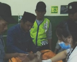 Tiga Jam Pencarian,  Bocah Tenggelam Ditemukan