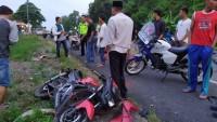Tiga Kendaraan Terlibat Kecelakaan Lalulintas di Jalinsum Sidomulyo
