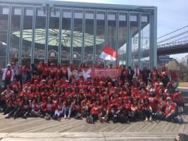Tiga Kota di AS Cetuskan #AmerikaBerSATU untuk Jokowi-Amin