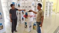 Tiga Kotak Suara Kecamatan Sidomulyo Kondisinya Rusak