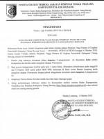 Tiga Pejabat Gugur Seleksi Uji Kompetensi