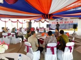 Tiga Perusahaan Pelayaran Gelar Halal Bihalal dan Penutupan Posko Lebaran di Pelabuhan Bakauheni