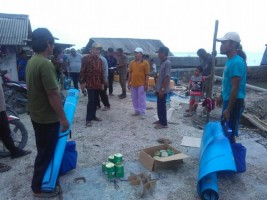 Tiga Rumah di Bandaragung Dihantam Banjir Rob, Satu Rumah Roboh