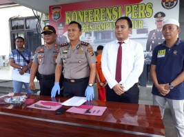 Tiga Tersangka Pencurian dengan Pemberatan Dibekuk Polres Lamtim