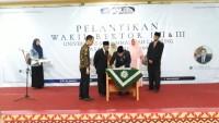 Tiga Wakil Rektor Universitas Muhammadiyah Lampung Lantik