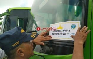 Tim Gabungan Cek Kesiapan Bus Mudik di Terminal Rajabasa