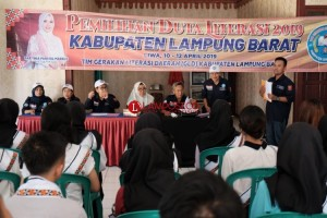 Tim GLD Lambar Gelar Pemilihan Duta Literasi