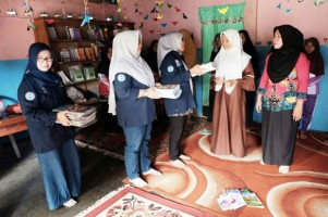 TIM GLD Lampung BaratSafari Ramadan Literasi