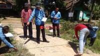 Tim Inspektorat Lampura Tak Temukan Penyimpangan Pengerjaan Jalan