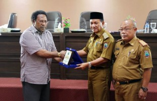 Tim International Coconut Community dan Delegasi Papua Nugini Sambangi Lamsel