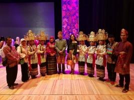 Tim Kesenian Tubaba Isi Tarian di Acara 3rd Indonesian Culture Festival di Azerbaijan