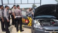 Tim Mabes Cek Kendaraan Patroli Polres Pesawaran
