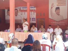 Tim Prabowo - Sandi Rapatkan Barisan di Tubaba