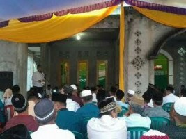 Tim Safari Ramadan,Pemkab Tulangbawang Barat Kunjungi Sembilan Masjid