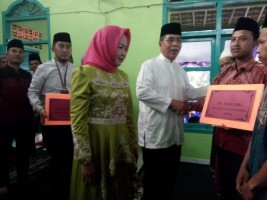 Tim Safari Ramadan Pemkab Tulangbawang Kunjungi Kampung Bawang Sakti Jaya