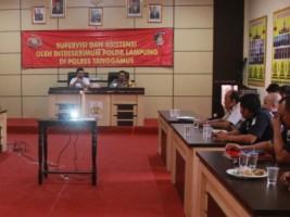 Tim Supervisi Polda Kunjungi Polres Tanggamus