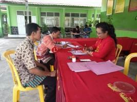Tim Survei SMPN 8 Bandar Lampung Temukan Rumah Tak Berpenghuni
