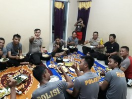 Tingkatkan Kamtibmas, Kapolres Lambar Pimpin Patroli di Bengkunat