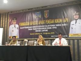 Tingkatkan Kapasitas Aparatur Hukum untuk Tangani KDRT dan TPPO