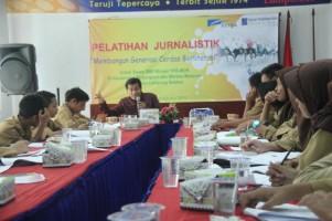 Tingkatkan Literasi, YPA-MDR Bekali Siswa Binaan Cara Menulis Berita
