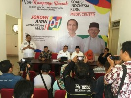 TKN: Jokowi ke Lampung Sebagai Presiden dan Capres