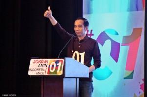 TKN Jokowi-KH Ma'ruf Perkenalkan Salam Jempol