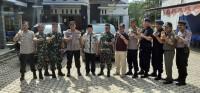 TNI Polri dan Bupati Mesuji Kompak Patroli Amankan Pemilu