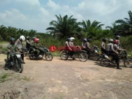 TNI-Polri Kompak Patroli Gabungan di Mesuji