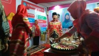 TP-PKK Bandar LampungTampilkan Batik Khas Lampung