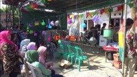 TPS 02 Campang Raya Tampilkan Keunikan Pada Pemilu 2019