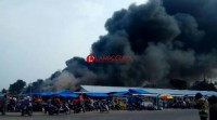 TPS Pasar Pulung Kencana Tubaba Terbakar Lagi