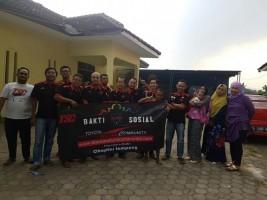 TSC Lampung Beri Santunan Anak Yatim