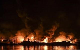 Tujuh Saksi Diperiksa Terkait Kebakaran Kapal di Muara Baru