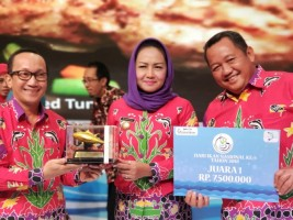 Tulangbawang Juara Pertama Menu Balita Gemar Ikan Nasional