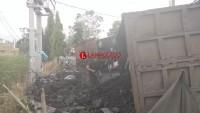 Tumpahan Batubara di Jalan Lintas Tengah Akhirnya Dievakuasi