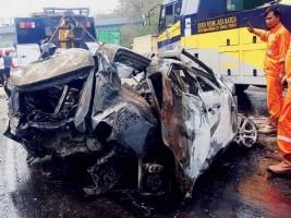 Turunan Cekung KM 91 Tol Cipularang Sulitkan Pengemudi