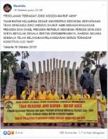 UI tidak Mengakui Jokowi-Ma'ruf sebagai Presiden dan Wakil Presiden?
