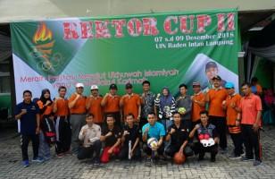 UIN Lampung Gelar Rektor Cup 2018