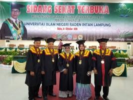 UIN Lampung Kembali Wisuda Enam Doktor MPI