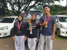 UKM Taekwondo Unila Sabet 3 Medali di Ajang Saburai Cup