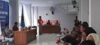 UKW  Angkatan XIX PWI Lampung diikuti 42 Wartawan