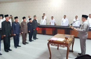 Umar Ahmad Kecewa dan Marah saat Lantik 6 Pejabat