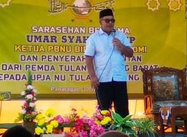 Umar Syah Janjikan Peningkatan Kapasitas Building Petugas PPL