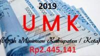 UMK Bandar Lampung 2019 Ditetapkan Sebesar Rp2,445 Juta