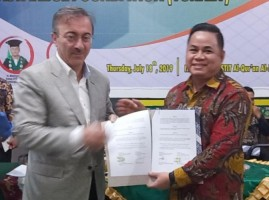UML - Istanbul Foundation of Tourkey Jalin Kerja Sama