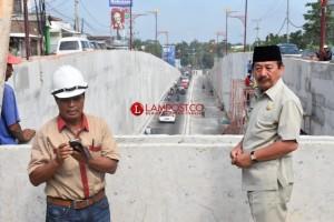 Underpass Dinilai Lebih Efektif di Bandar Lampung