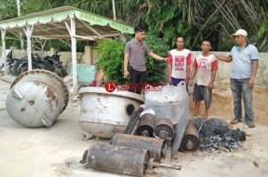 Ungkap Sindikat Pencurian Material PT DCE PLTU, Polisi Sita 3 Ton Besi