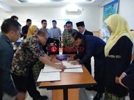 Unila dan Polinela Kerja Sama Bidang Pendidikan Bersama UiTM Malaysia