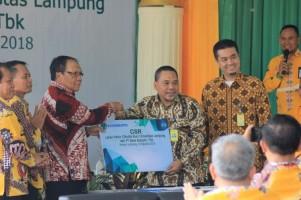 Unila Resmikan Lahan Parkir Program CSR Bank Bukopin