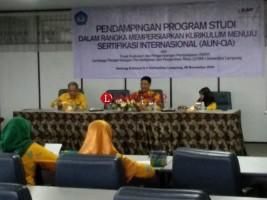 Unila Siapkan Program Studi Unggulan Untuk Raih Sertifikasi Internasional